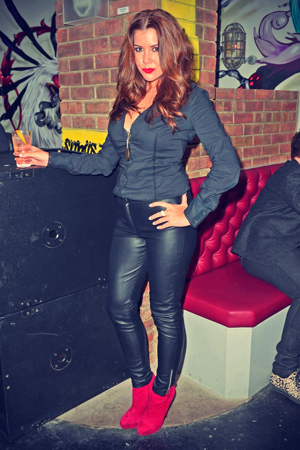 Imogen Thomas Attends The Complete Package Wrap Party