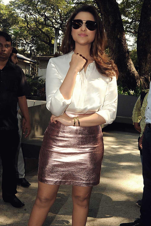 Parineeti Chopra attends a promotional event