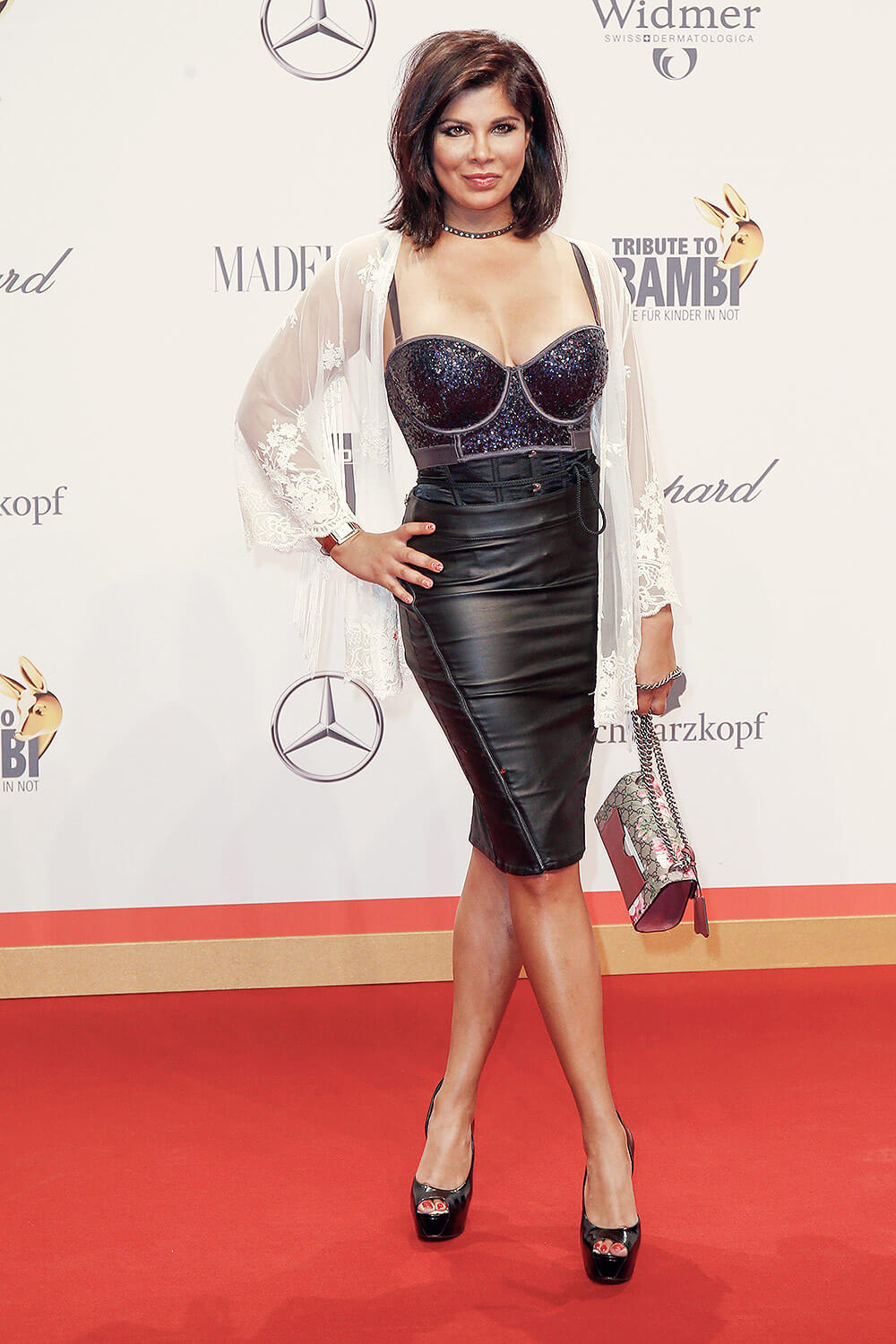 Indira Weis attends the Tribute To Bambi