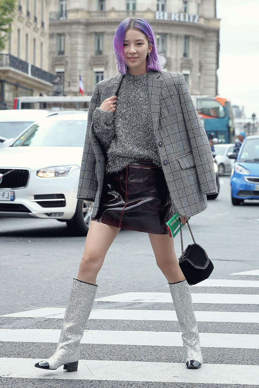 Irene Kim attends Stella McCartney SS18