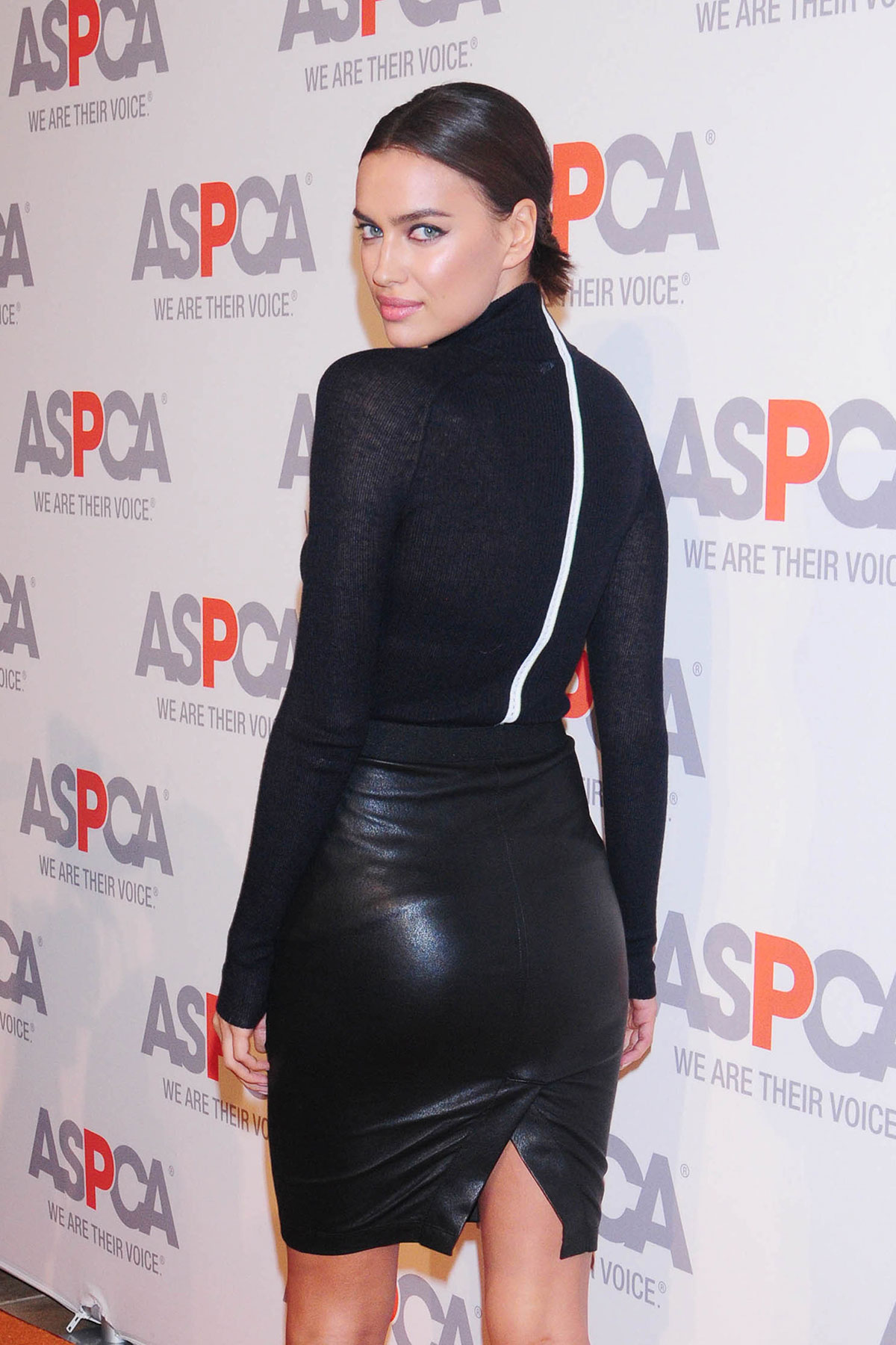 Irina Shayk attends ASPCA Young Friends Benefit