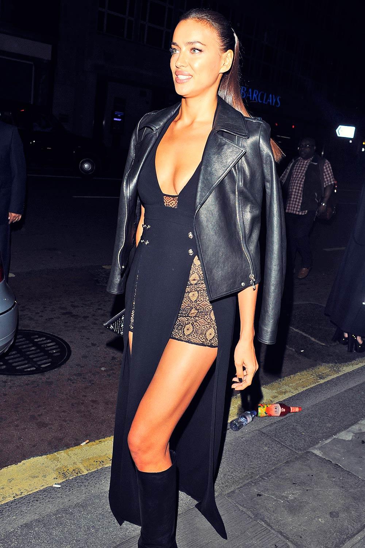 Irina Shayk attends Versus by Versace Show
