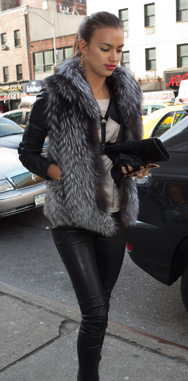 Irina Shayk headed to Knicks v. Magic – Madison Square Garden