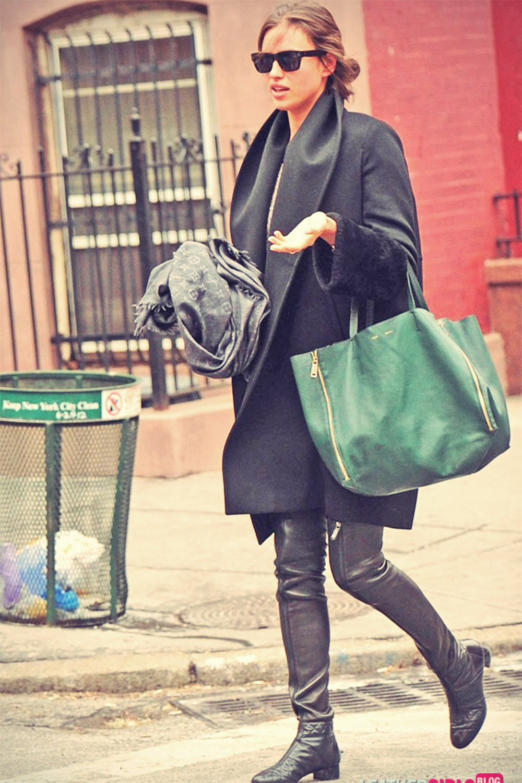 Irina Shayk Takes A Stroll Through The West Village