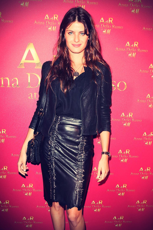 Isabeli Fontana at the H&M Anna Dello Russo party