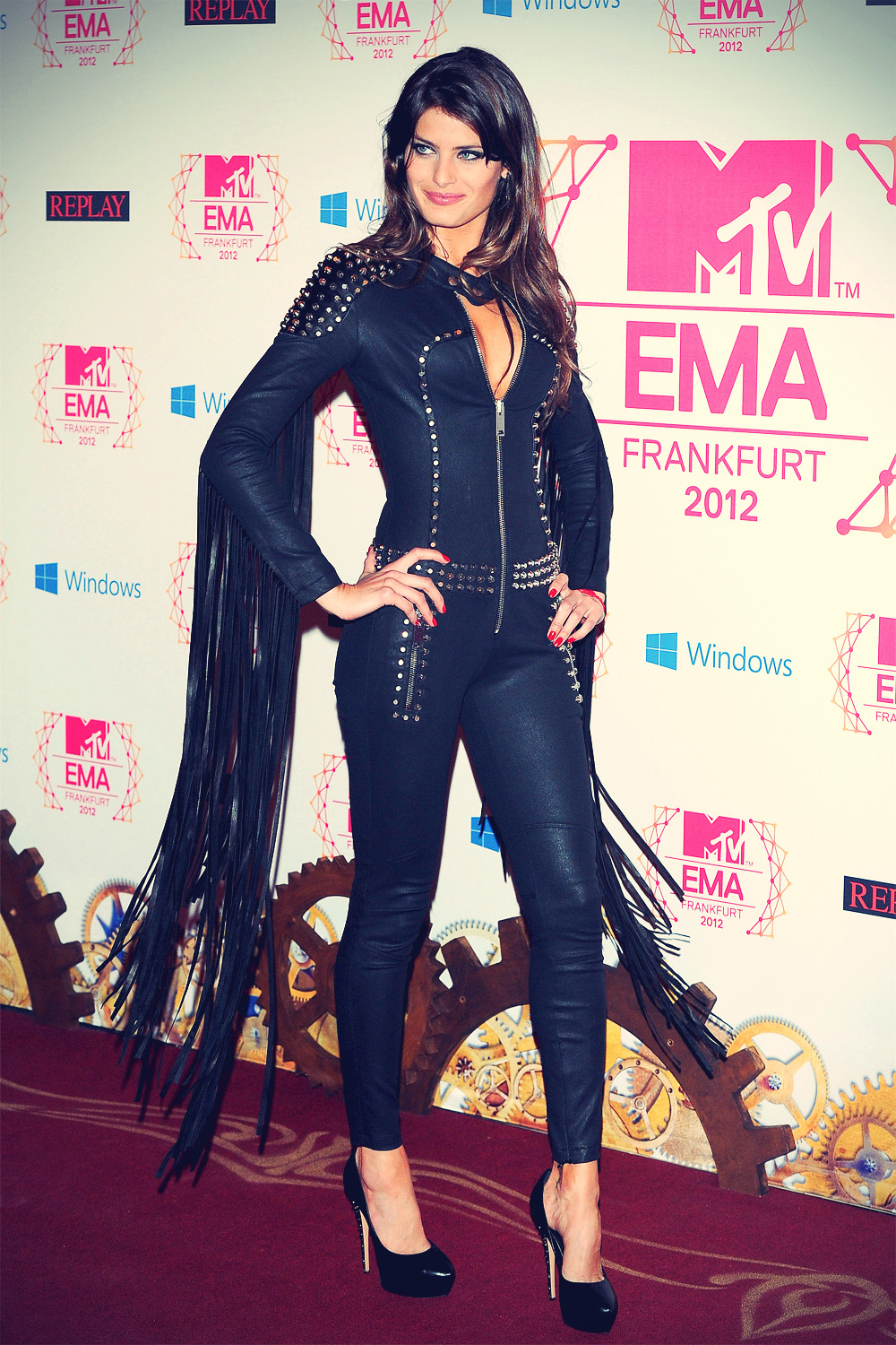 Isabeli Fontana at MTV EMA 2012