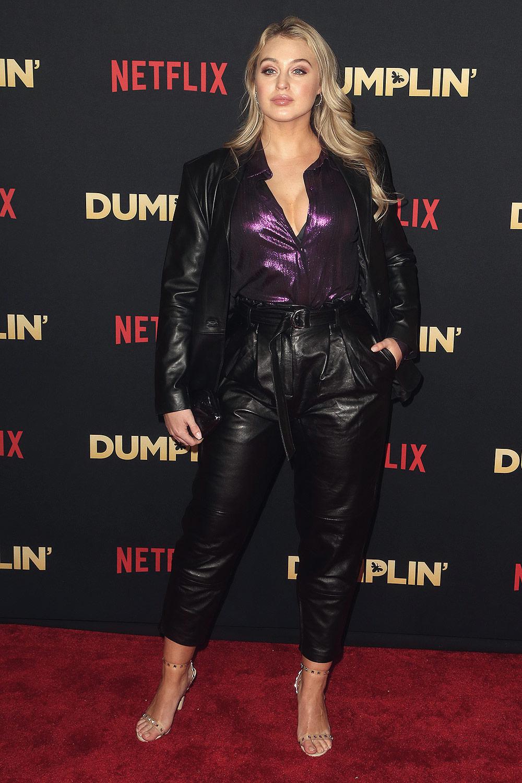 Iskra Lawrence attends Premiere Of Netflix's 'Dumplin