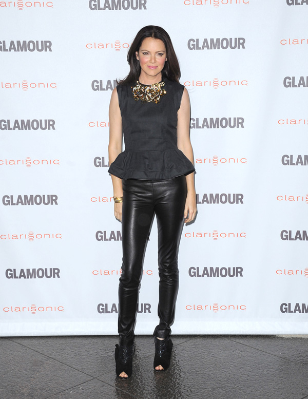Jacinda Barrett Glamour Reel Moments 2011 in Los Angeles
