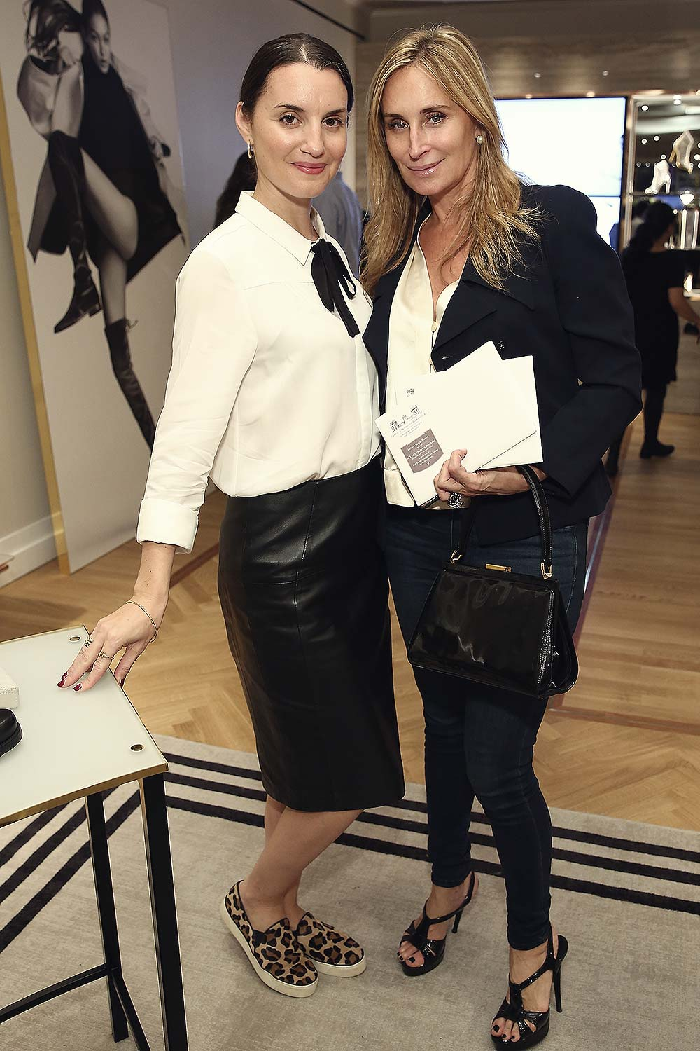 Jackie Seaman attends Stuart Weitzman And Quest Invite You To Celebrate The New Look