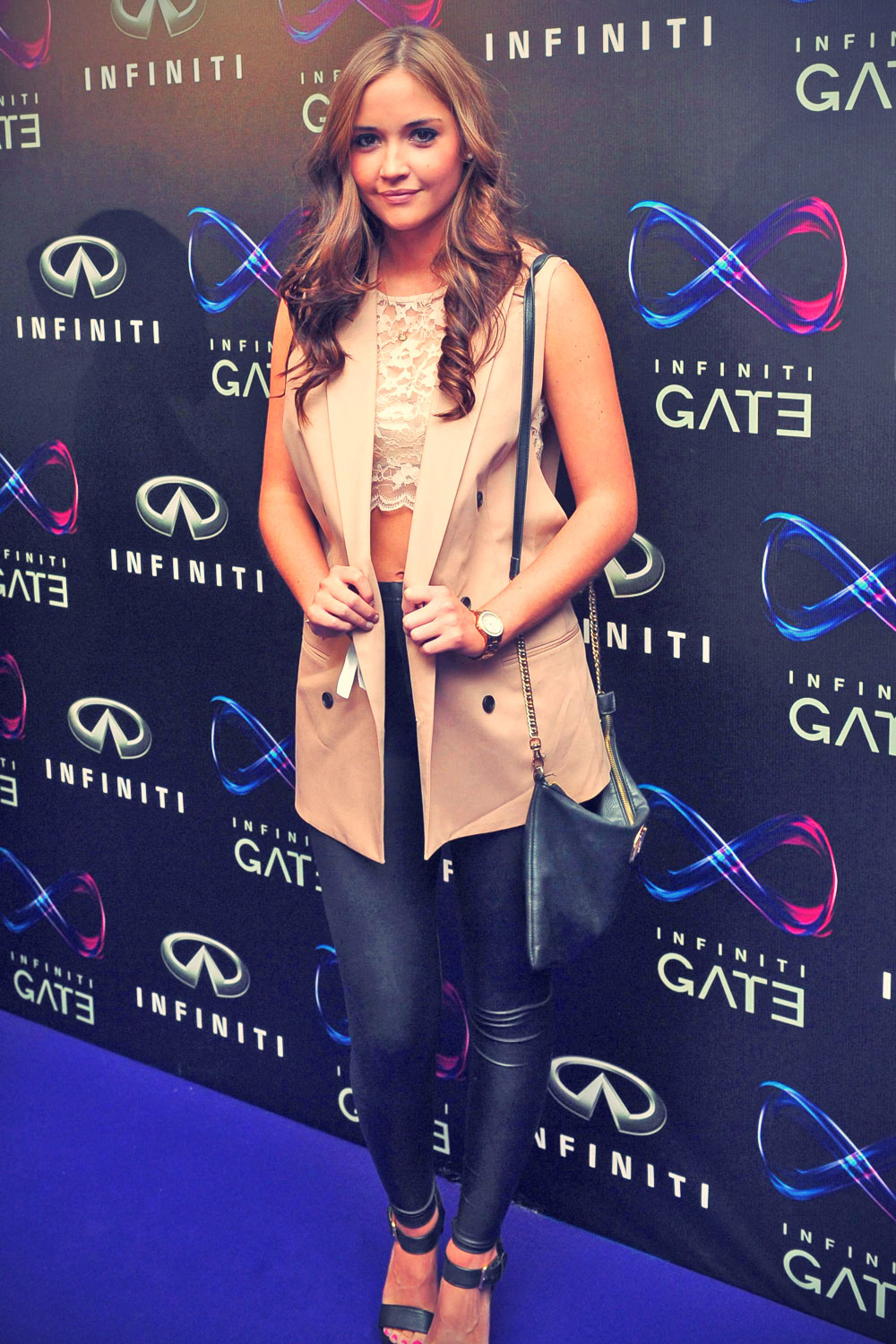 Jacqueline Jossa attends the Infiniti Gate Experience party