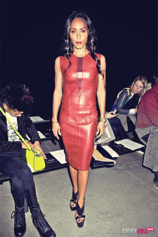 Jada Pinkett Smith attends the Vera Wang Fashion Show
