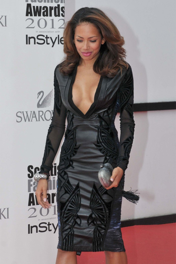 Jade Ewen at the Scottish Fashion Awards