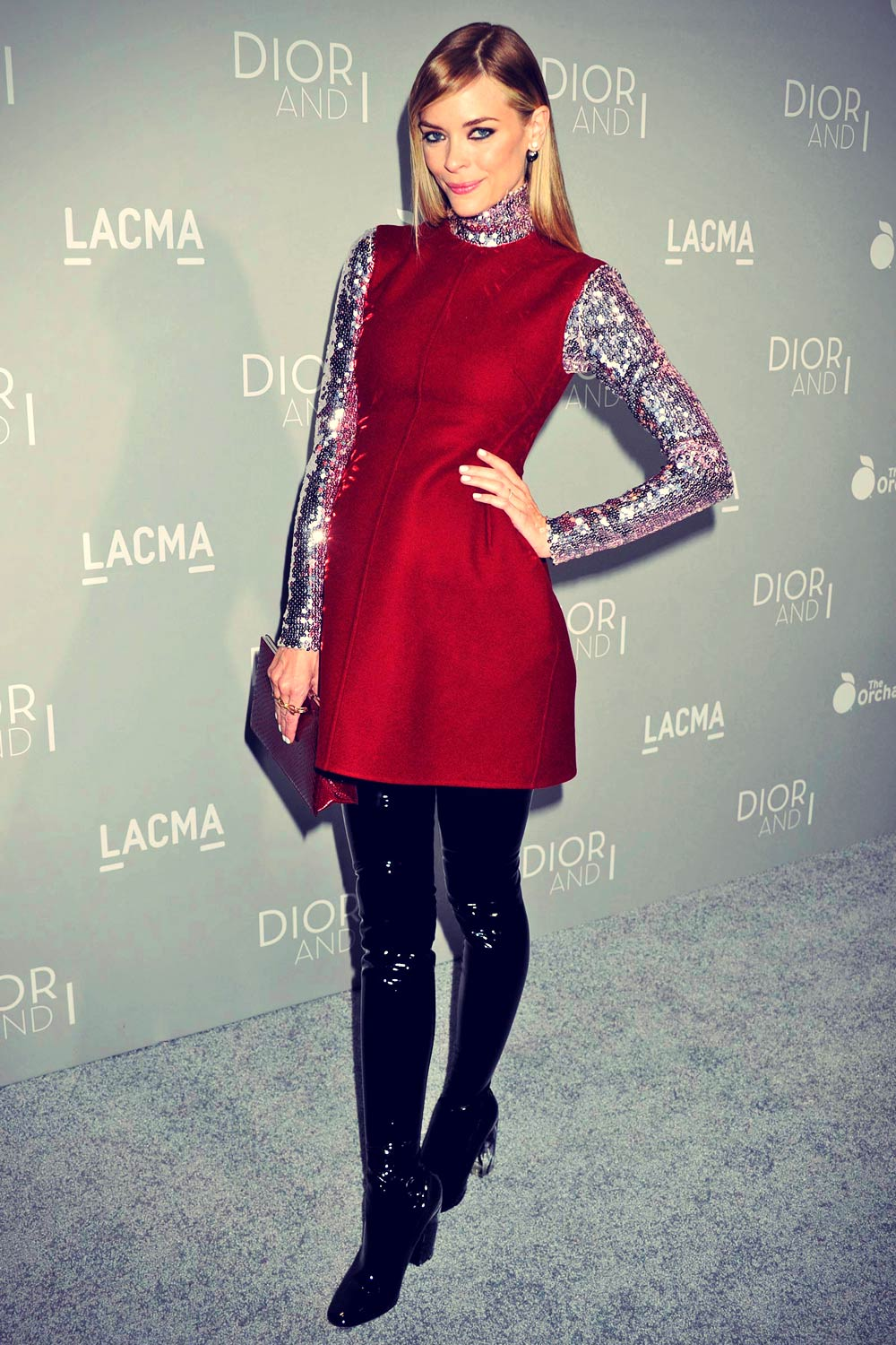 Jaime King attends Premiere of The Orchard's DIOR & I