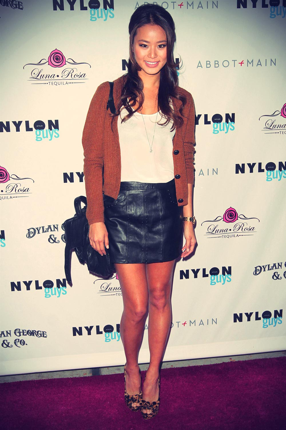 Jamie Chung at the Nylon Guys Party in LA
