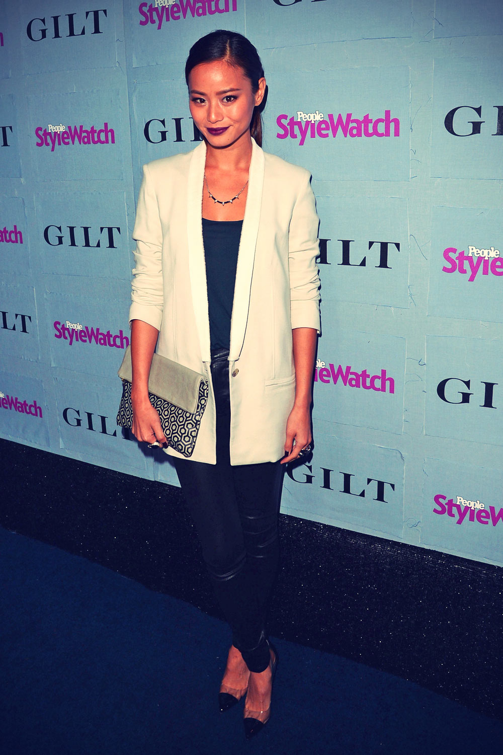 Jamie Chung attend People StyleWatch Denim Awards