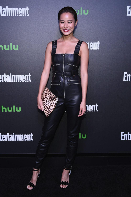 Jamie Chung attends Hulu's New York Comic Con