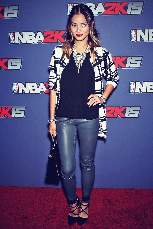 Jamie Chung attends NBA 2K15 Launch Celebration