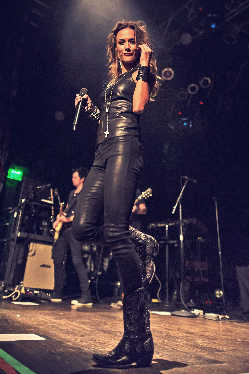 Jana Kramer performs at House Of Blues in Anaheim