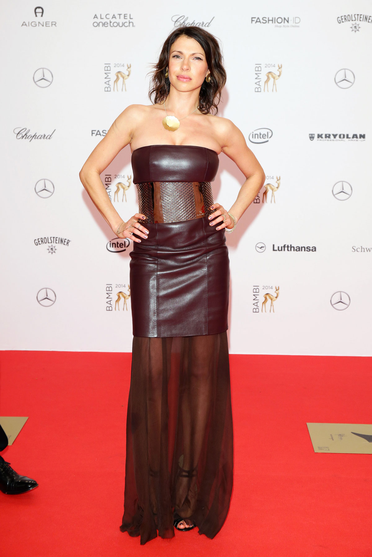 Jana Pallaske attends Bambi 2014 awards