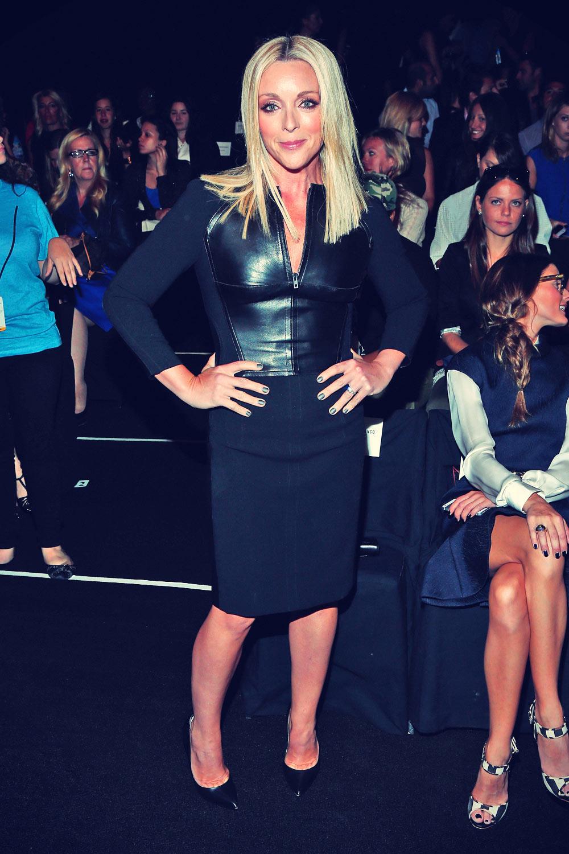 Jane Krakowski attends Kaufmanfranco Spring 2014 fashion show