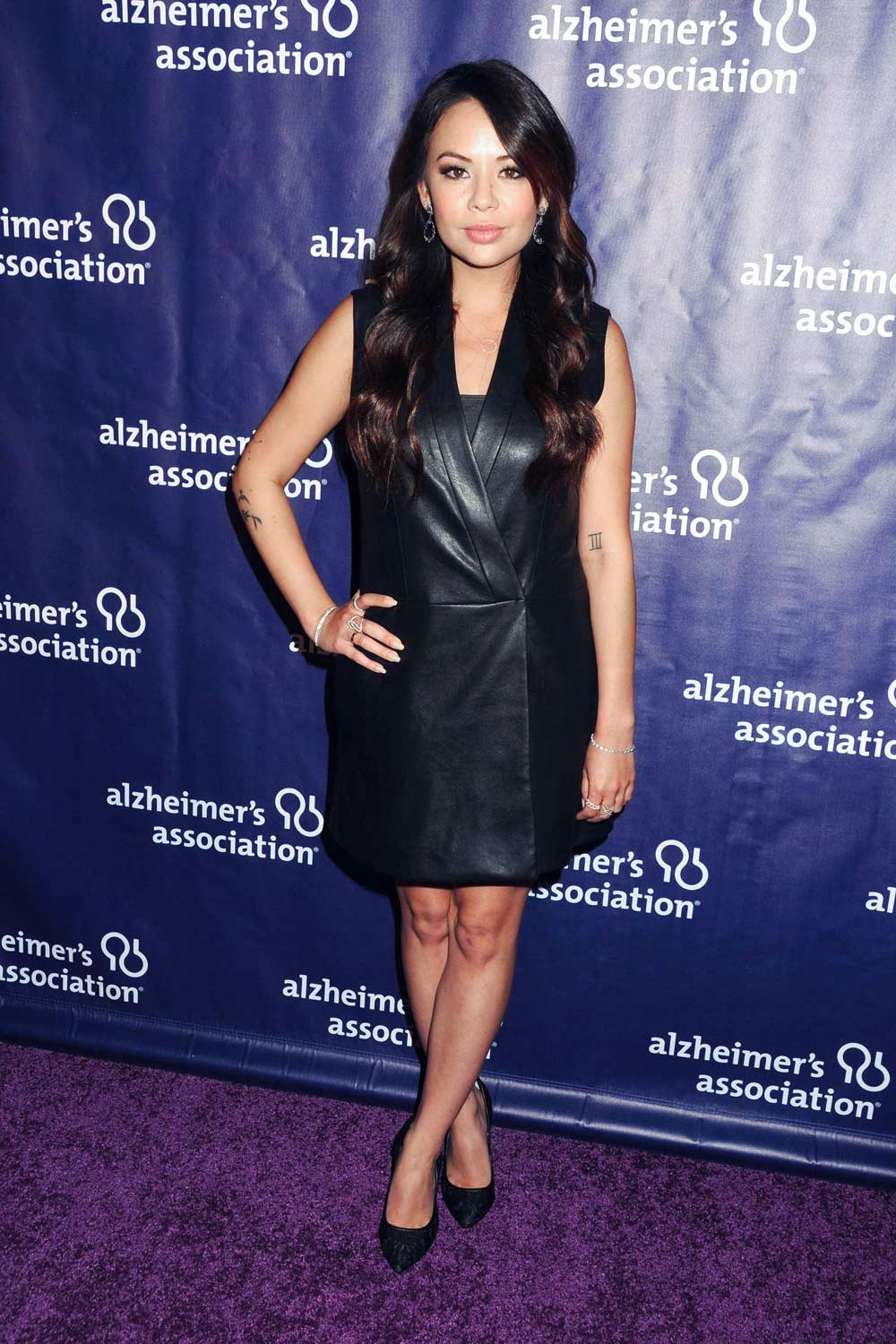 Janel Parrish attends 24th Annual A Night At Sardi's Benefit Gala