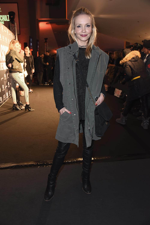Janin Reinhardt attends Premiere of Robin Schulz
