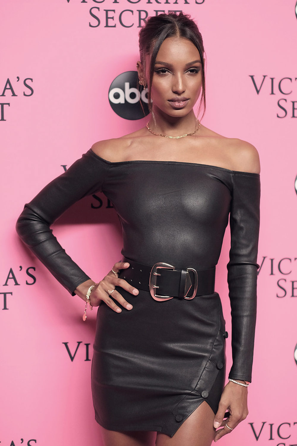 Jasmine Tookes attends 2018 Victoria's Secret Viewing Party