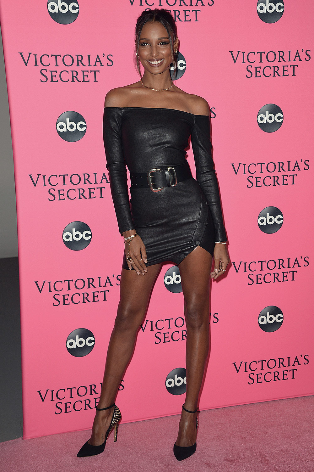 Jasmine Tookes attends Victoria's Secret Fashion Show