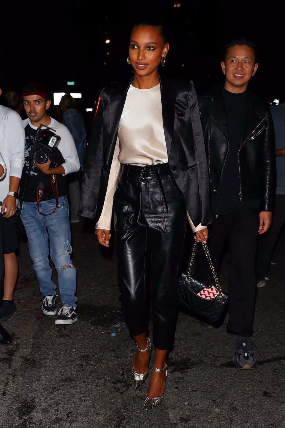 Jasmine Tookes attends Rihanna's afterparty