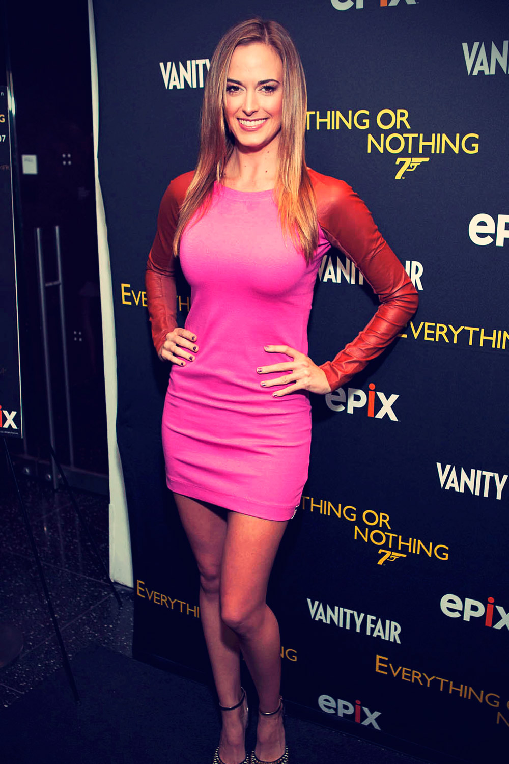 Jena Sims attends the premiere of the new documentary Everything or Nothing