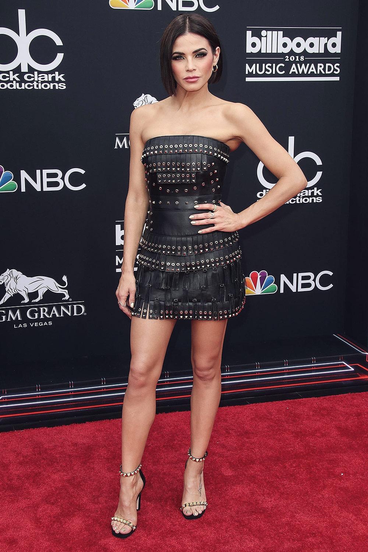 Mini Las Vegas >> Jenna Dewan attends 2018 Billboard Music Awards - Leather Celebrities