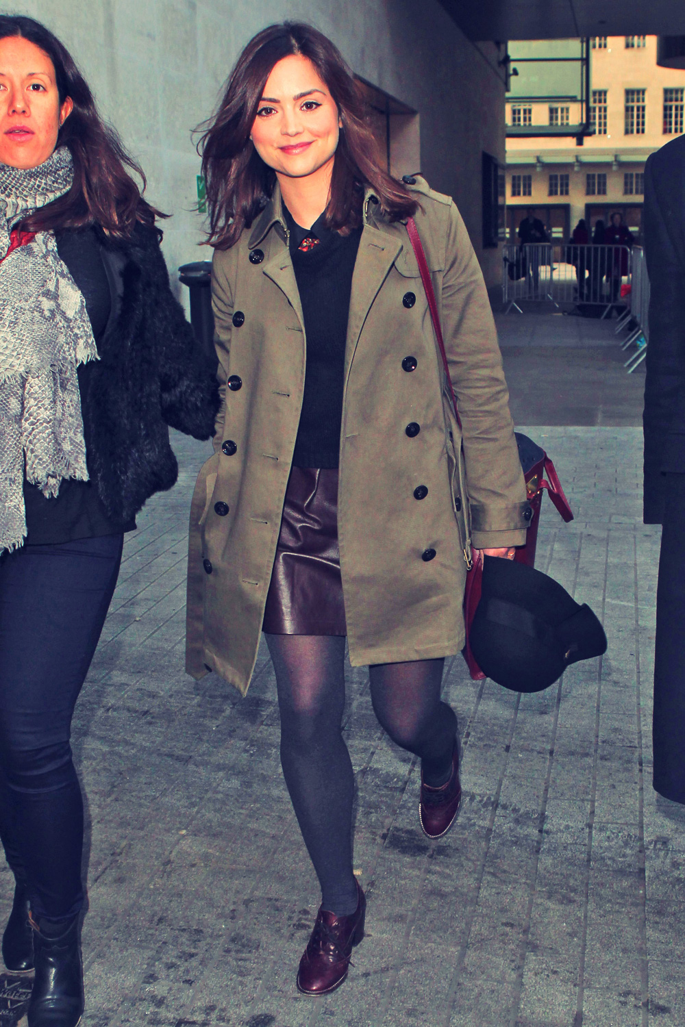 Jenna-Louise Coleman at the BBC Radio 1