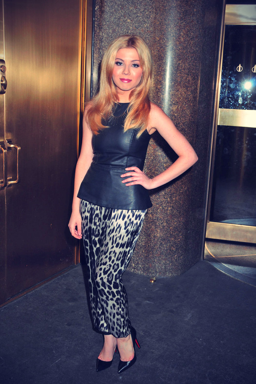 Jennette McCurdy at Late Night with Jimmy Fallon in NYC