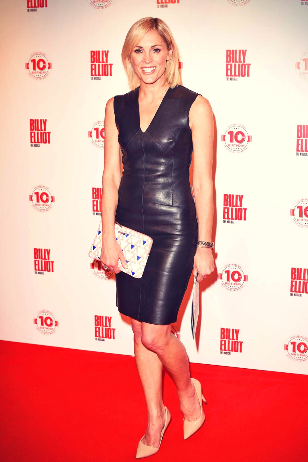 Jenni Falconer attends Billy Elliot The Musical 10th Anniversary