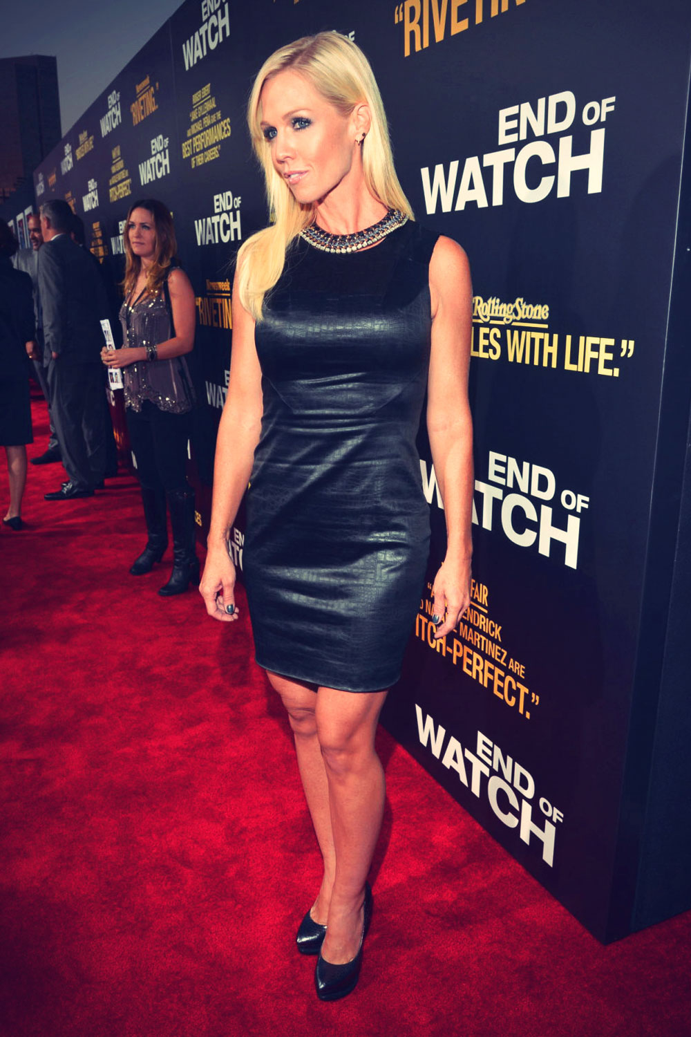 Jennie Garth at End of Watch premiere