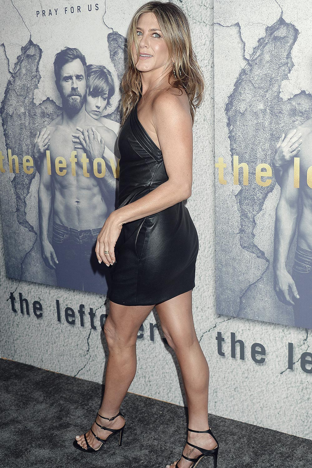 Jennifer Aniston attends The Leftovers Season 3 premiere
