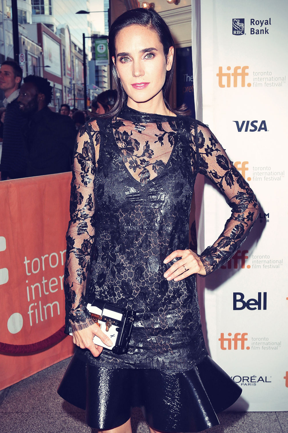 Jennifer Connelly attends Shelter premiere at TIFF