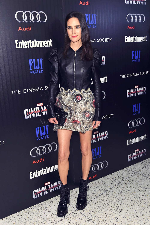 Jennifer Connelly attends the screening Captain America Civil War