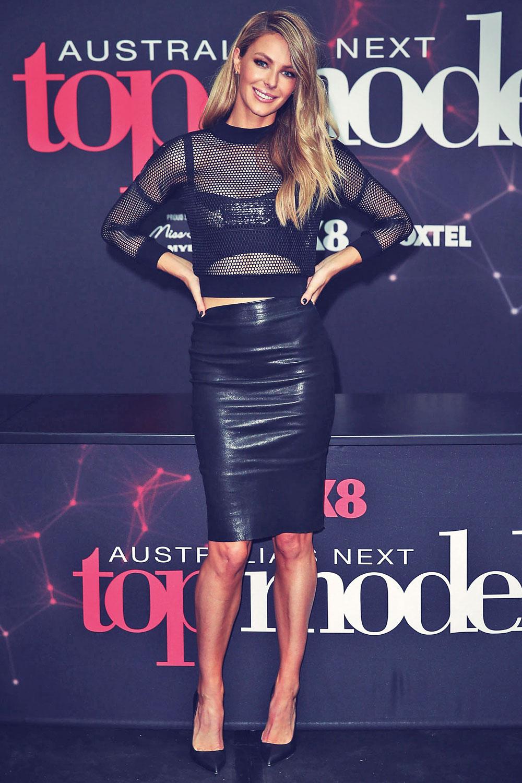 Jennifer Hawkins at Australia's Next Top Model auditions
