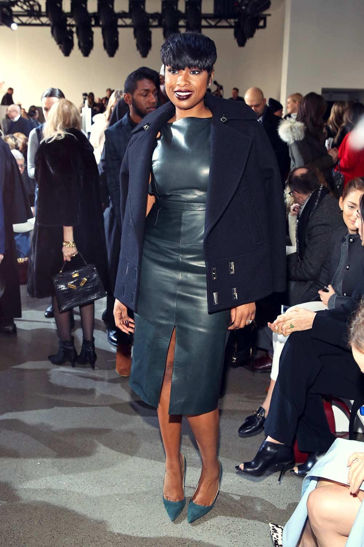 Jennifer Hudson attends the Jason Wu fashion show