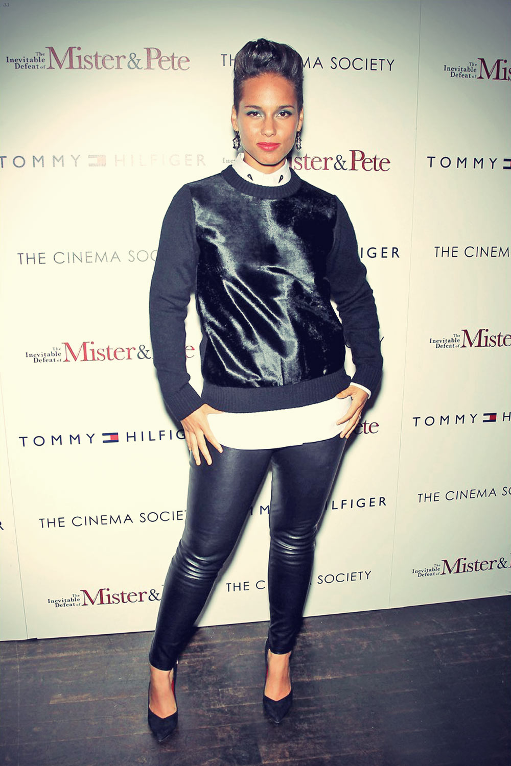 Jennifer Hudson at ther screening of  The Inevitable Defeat of Mister & Pete