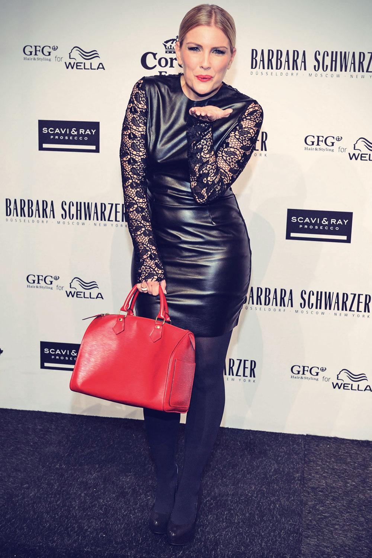 Jennifer Knable attends Barbara Schwarzer Fashion Show