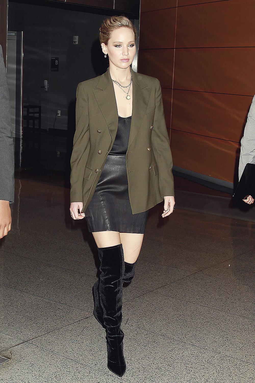 Jennifer Lawrence atte...