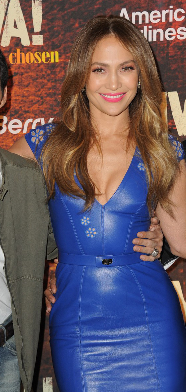 Jennifer Lopez attends Univisions TCA panel at The Langham Huntington