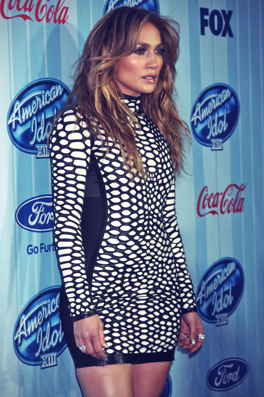 Jennifer Lopez attends American Idol Season 13 Special Screening
