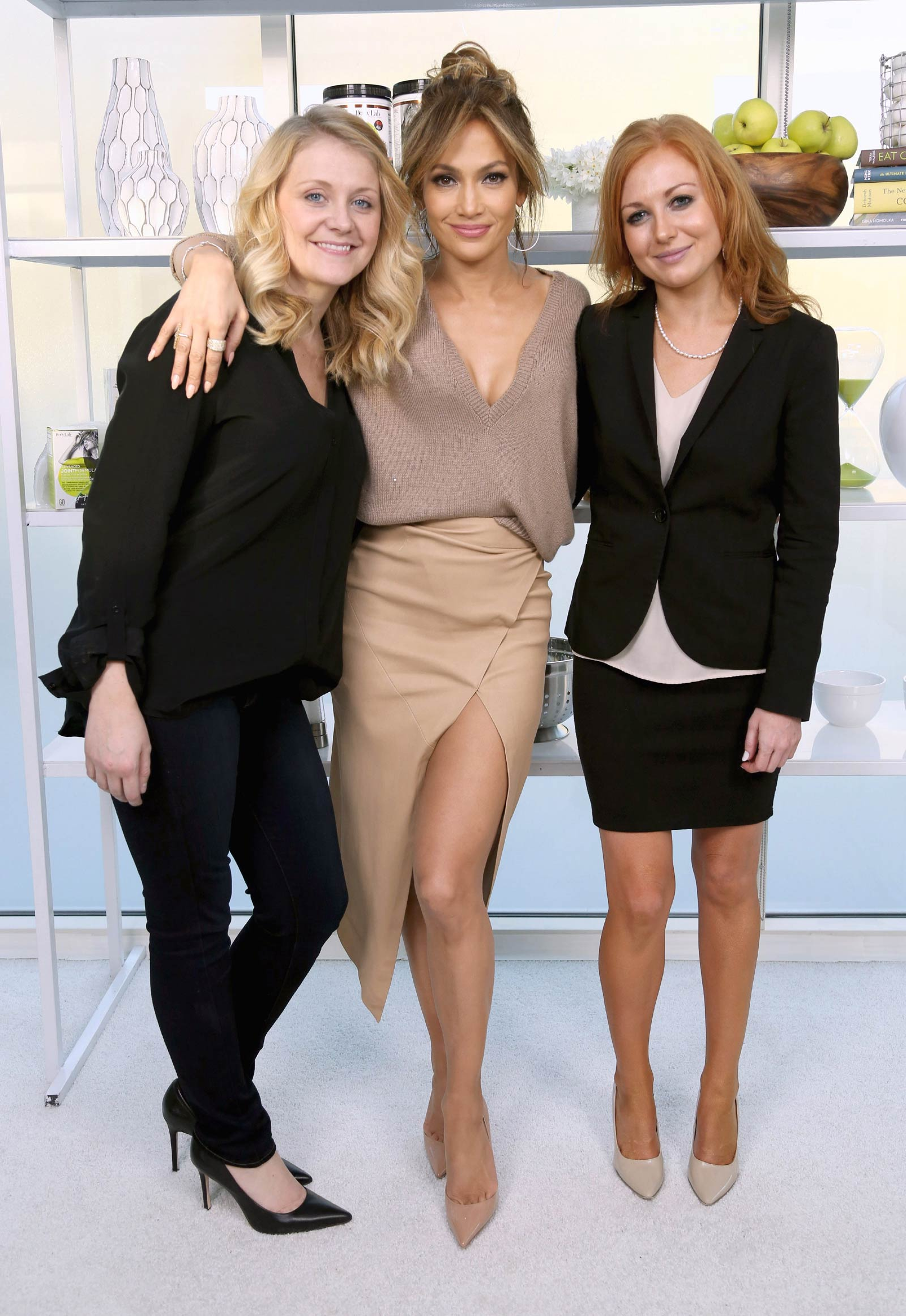 00628325ca Jennifer Lopez attends BodyLab launch event - Leather Celebrities