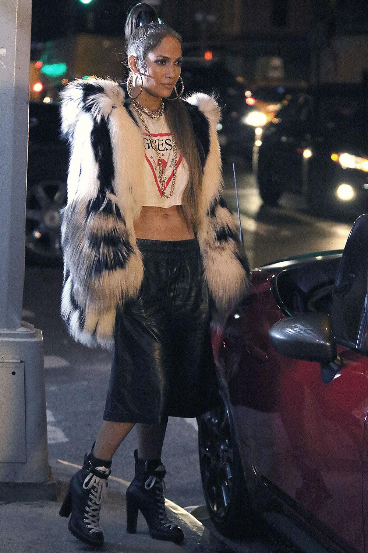 Jennifer Lopez filming her latest Music Video Amor