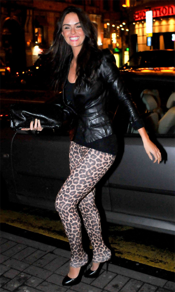 Jennifer Metcalfe the Living Room Bar in Liverpool