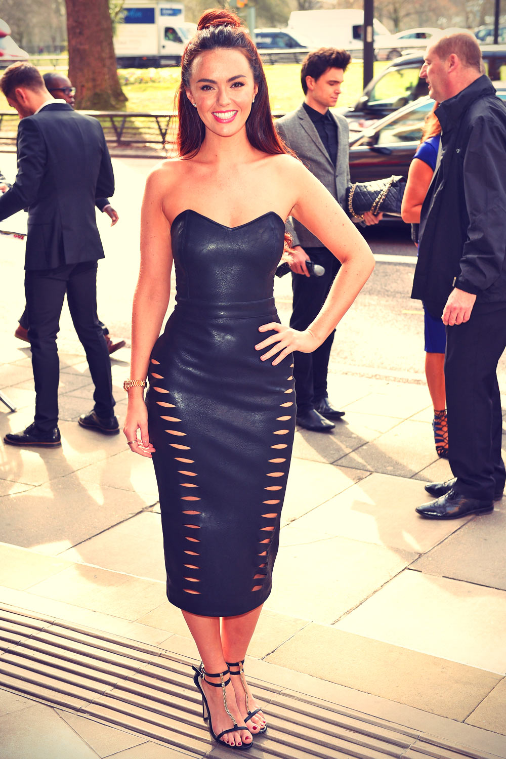 Jennifer Metcalfe attends The TRIC Awards 2015