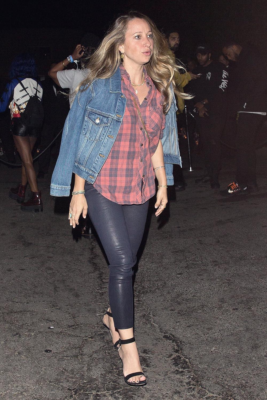 Jennifer Meyer attends P Diddy's 49th Birthday Party
